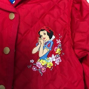 Disney store quilted Snow White red jacket